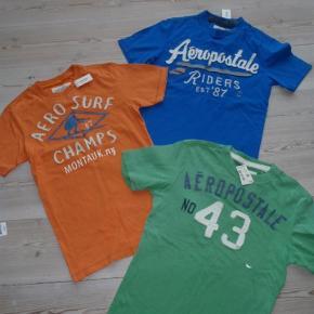 Virkelig lækre t shirts fra Aeropostale, stadig med tags. Sælges for 60,- kr stk eller samlet for 150,-. Har kostet over 600,- samlet fra ny. #30dayssellout