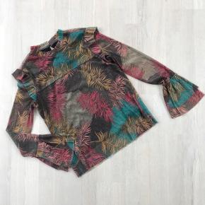 Bluse - trøje - skjorte - med glimmer i de smukkeste farver.