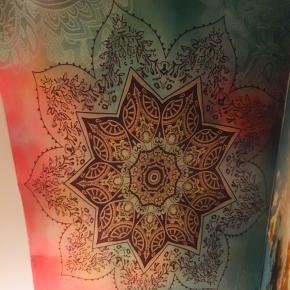 Cotton blend, stofophæng Mandala.  str 145x200cm - Brugt i 5 dage på loftet i soveværelset... Handler kun via Trendsales via køb nu ❣️