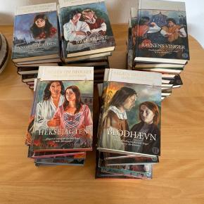 Sagaen om isfolket - den komplette samling på 47 bind.  Er samlet gennem længere tid - nyprisen er 129 pr. bog.  Sælges kun samlet
