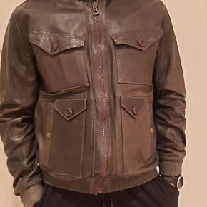 HUGO BOSS skind- & læderjakke