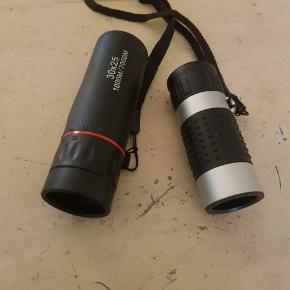 2 gode kikkerter 1 lang udsyn den anden er en rangefinder afstandsmåler til golf og lystfiskeri mv.
