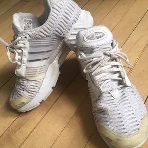 Jeg købte skoene for 1 år siden, og gik i dem sommeren 2018😊 De er str 39,1/3. Jeg bruger selv str 38 og passer dem fint ⚡️