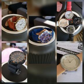 Diverse Quartz ure sælges. Både til damer og herrer.  Priser fra 40,-  Skriv for mere info.