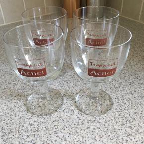 4 Belgiske ølglas Aldrig brugt