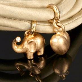 SØGER  Lynggaard Sweet Drop guld Hjerte og elefant Skriv hvad du har og evt pris og stand