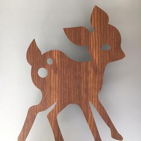 Ferm Living / My Deer Lamp / aldrig brugt i original indpakning / smoked oak