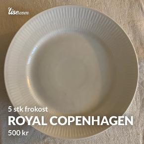Royal Copenhagen tallerken