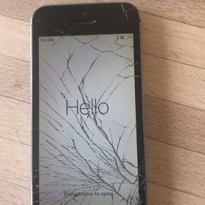 Iphone 5s. Skal have ny skærm og trænger til nyt batteri.