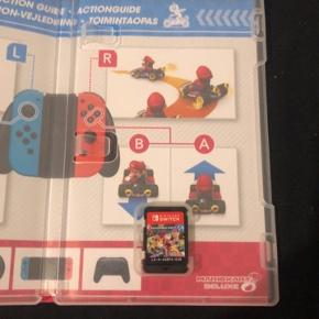 Mariokart 8 deluxe  Ny pris 500kr    Brugt meget få gange var bare ikke lige et spil til mig   Kan sendes med DAO til 45kr