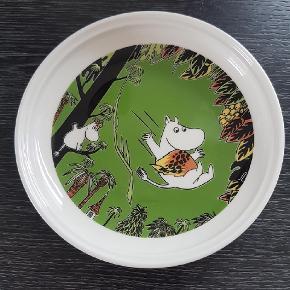 Mumi tallerken    udgået  Moomin