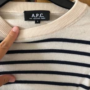Smuk tynd strik fra APC der er købt i A.P.C butikken i Berlin