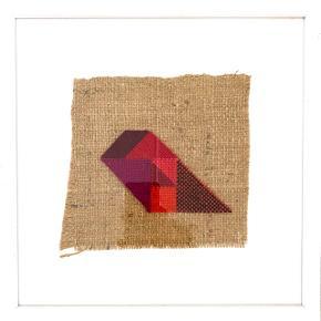 KONVEKST TANGRAMMER 🌈 Jeg sælger de sidste billeder fra denne serie i tekstil fra Kvadrat + trærammer fra Lyrum.  30x30cm og dybden på rammen er 3cm og prisen er 700kr.  Kontakt mig gerne - også for pris på flere...  De bedste hilsner Sarah  P.s. min spejlreflektion medfølger ikke 🙄