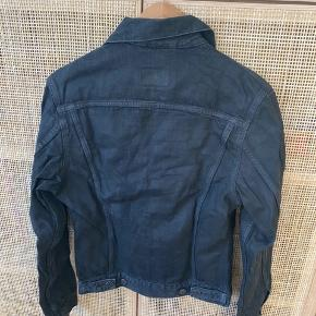 Coated Sort Vintage Levis Jakke