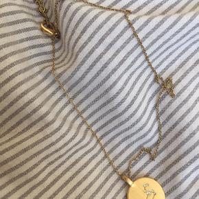 Pilgrim stjernetegns halskæde, Leo i guld.