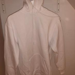 Hvid hoodie