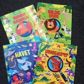 4 spændende opgavebøger.  50 pr stk, alle 4 for 150