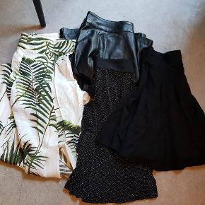 5 nederdele fra H&M. Str. mellem xs og s.