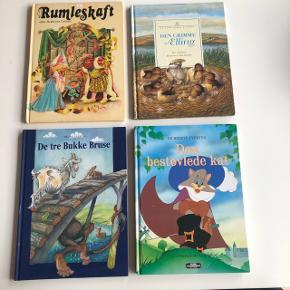 Masser af fine børnebøger - BYD 😊 Afh. 6715 Esbjerg N (Vester Nebel)  (De 3 bukkebruse, Klodshans og Hans & Grete er solgt)
