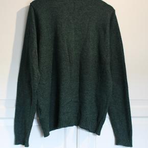 Mærke : Villa Clothes - Strik Bluse Str.: XL Farve: Grøn Bemærkning: Brugt - ingen fejl