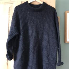 Strik i uldmix fra hm, skønt trøje