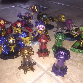 Skylanders imaginators sensei's  75-100 kr stk afhængig af hvilken figur.